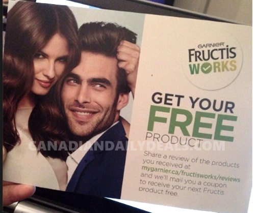 Garnier Free Product Coupon With Review