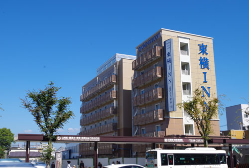 Nara Toyoko Inn, Nara, Japan.