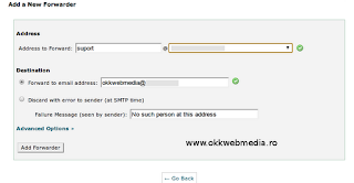 Tutoriale Cpanel Webmail OWM