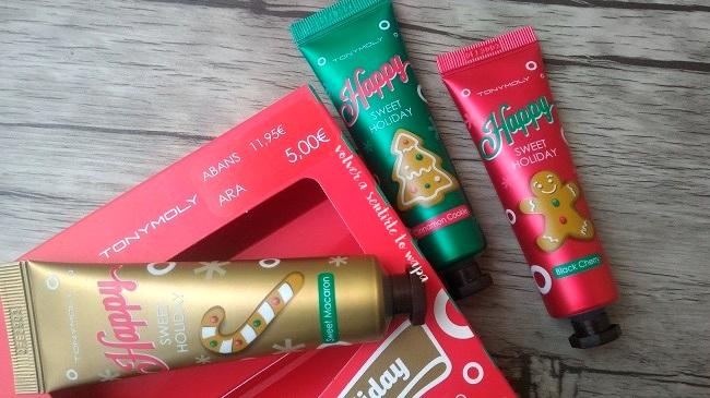 Set de cremas de manos de navidad de Tony Moly