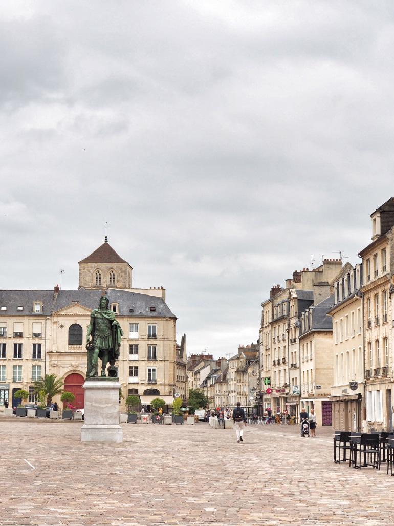 Visite de la ville de Caen