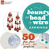 Book Review and Free Tutorials - A Bounty of Bead and Wire Earrings