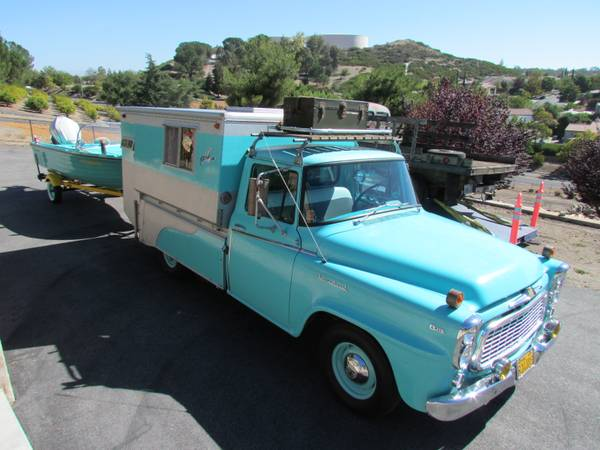 International Harvester B110 Camper Truck