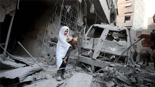 Allah Kariim, Begini Kondisi Aleppo Setelah Dibombardir Bom Oleh Assad dan Sekutunya