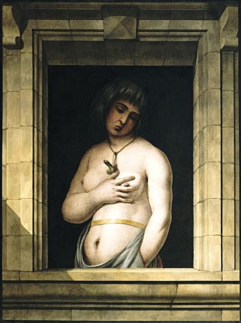 Jean Jacques Lequeu: Donna alla finestra