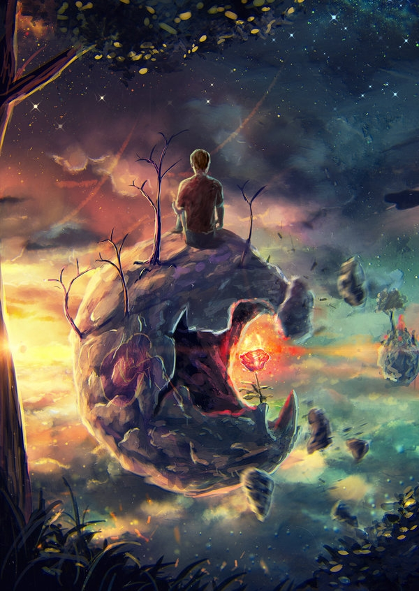 07-To-each-his-own-Land-Sylar113-A Mixture-of-Surrealism-and-Fantasy-Digital-Art-www-designstack-co