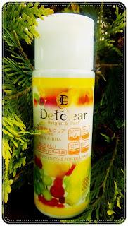 [MEISHOKU] - DetClear Bright & Peel Fruit Enzyme Wash powder - recenzja.