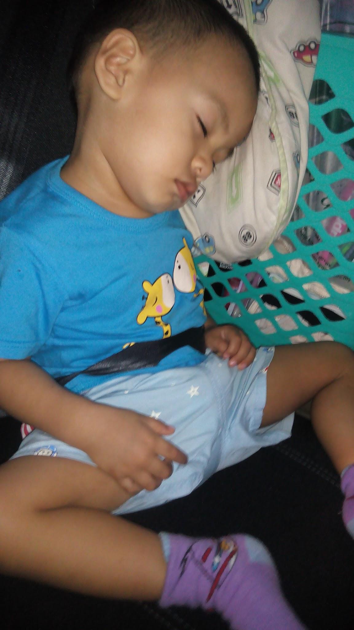 Latihan Penggunaan Safety Belt Untuk Anak