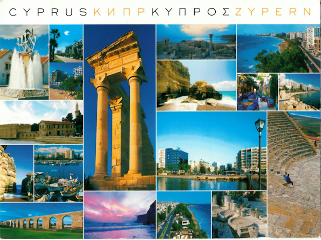 Postcard from Cyprus postcrossing