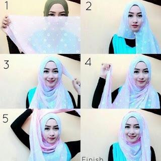 Kumpulan Tutorial Hijab Modern Simple Khas Anak Remaja Masa Kini