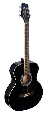 Đàn guitar acoustic Stagg SA20ABLK Màu đen giá 1 triệu 5 trăm