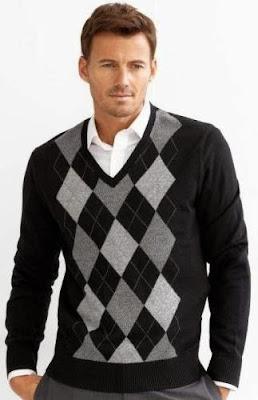 Modelo de suéteres masculinos