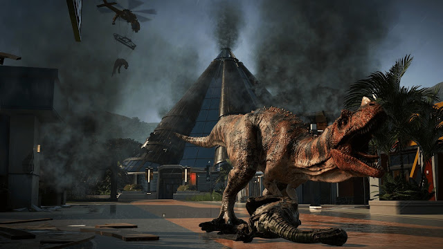 Jurassic World Evolution pc imagenes