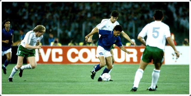 Baggio Italy 1990 Ireland