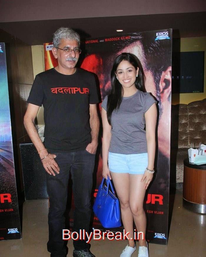 Sriram Raghavan, Yami Gautam, Hot Images OF Manasvi Mamgai, Huma Qureshi, Sonakshi Sinha At  'Badlapur' Special Screening