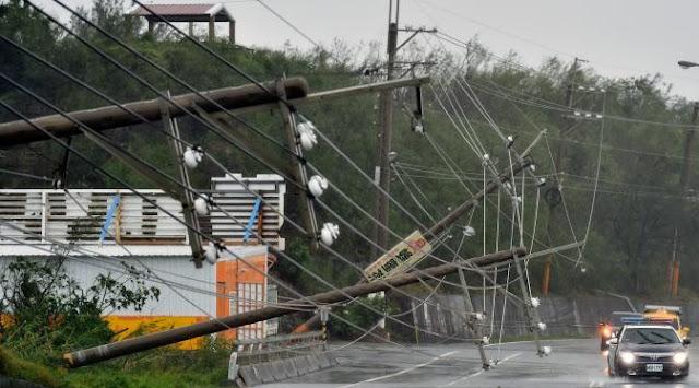 badai meranti taiwan