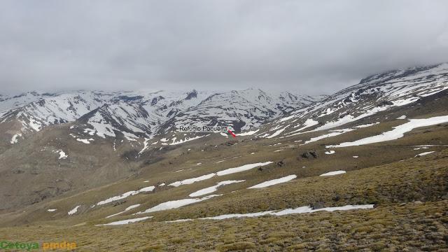 Ruta al Mulhacén desde la Hoya del Portillo