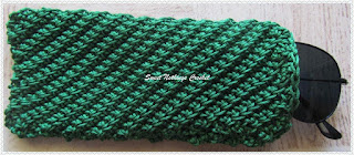 free crochet spectacle case pattern