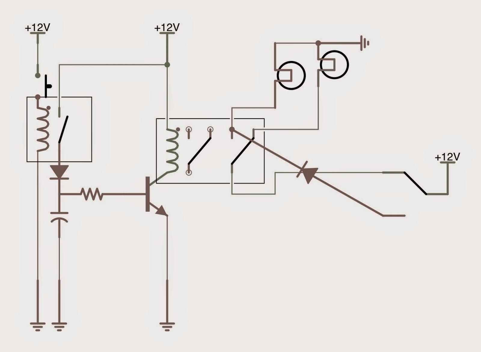 Hornby Dublo 3 Rail Automated Signal Schematics