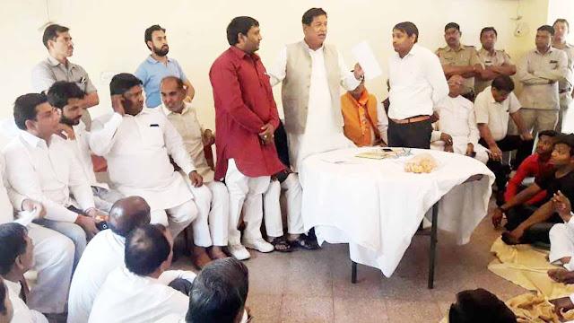 BJP MP from Kurukshetra, Rajkumar Saini, is stirring in the politics of Faridabad.