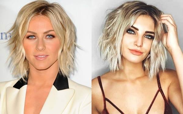 Blonde Kurzhaarfrisuren 2018