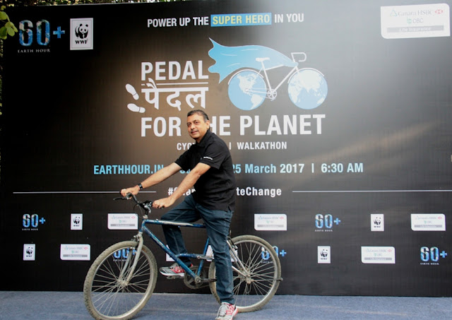 Pedal for the Planet 2017 – Cyclothon-Walkathon to raise awareness about climate change