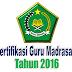SK Penetapan Calon Peserta Sertifikasi Guru Madrasah untuk Mapel Umum Tahun 2016