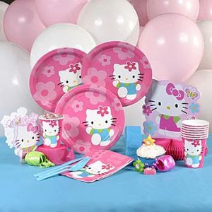 decoracin de fiestas infantiles de hello kitty se puede optar por diferentes tipos de decoracin dependiendo del tiempo que tengan para organizar la
