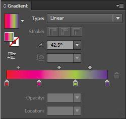 Cách tô màu từ đơn giản đến Pro trong Adobe illustrator