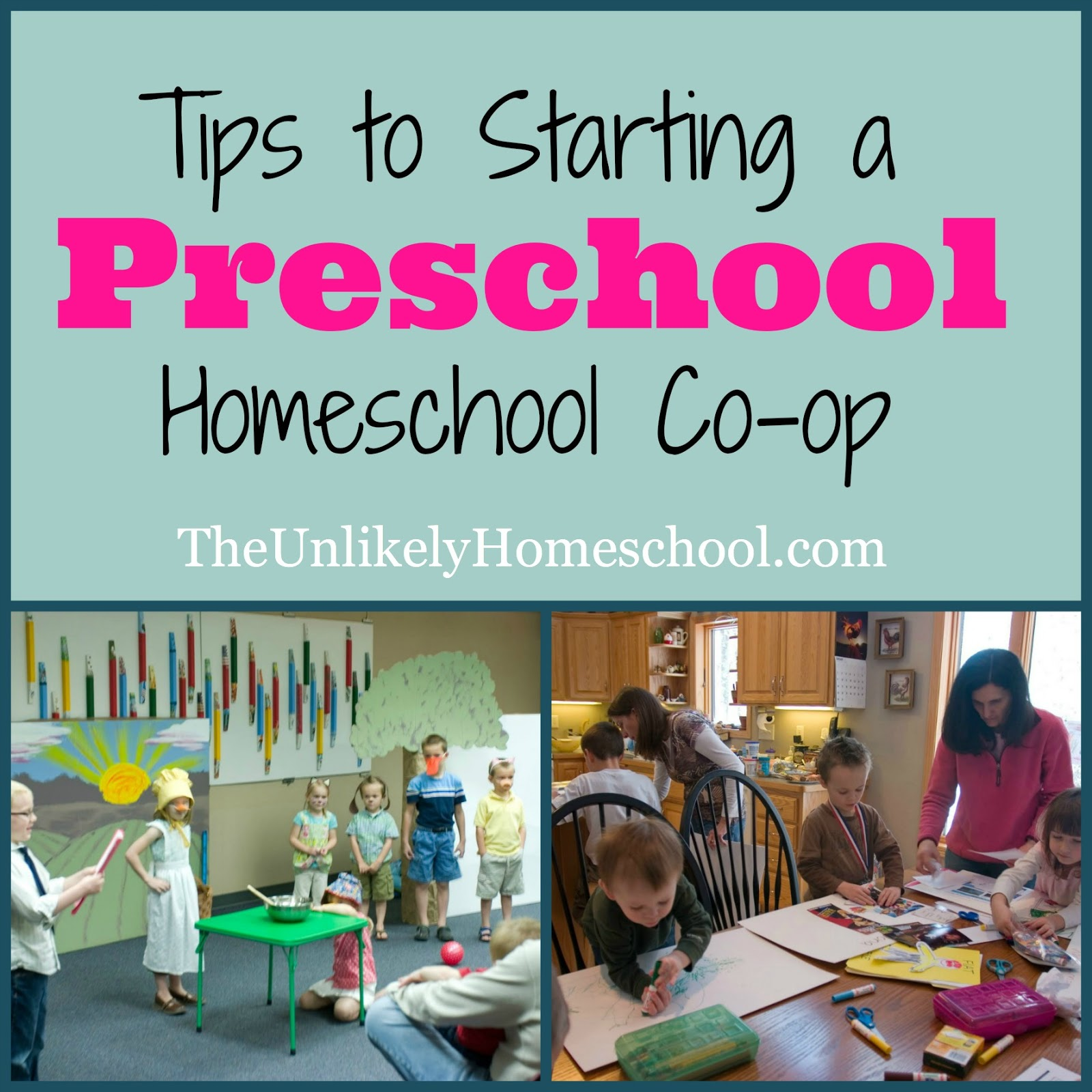 The Unlikely Homeschool: Tips To Starting A Preschool