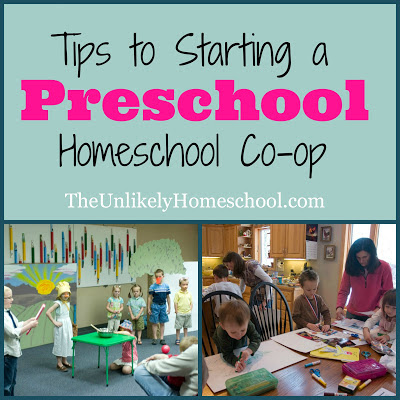Tips to Starting a Preschool Homeschool Co-op: Creating a Schedule and Assigning Jobs