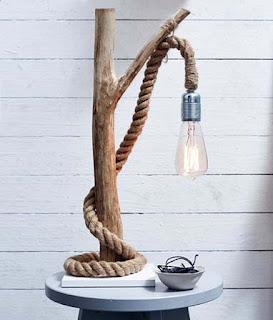 Sivs hus: DIY - lampe