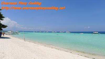 Natural White Sand Beach of Panglao Island