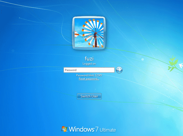 forgot password to laptop windows 7