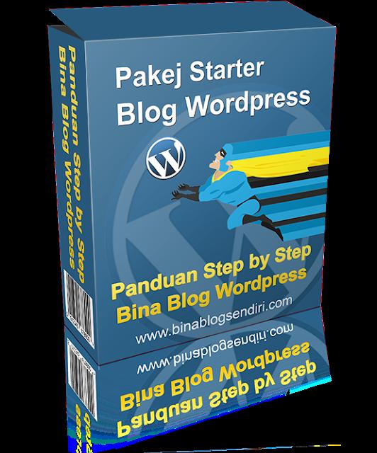 Panduan buat blog sendiri guna Wordpress