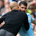 Pep Guardiola claimed Sergio Aguero has never been better after the Manchester City striker's hat-trick .