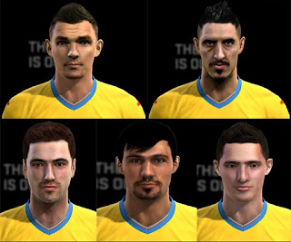 Faces: Gaman, Hoban, Hora, Ropotan, Steliano Filip, Pes 2013