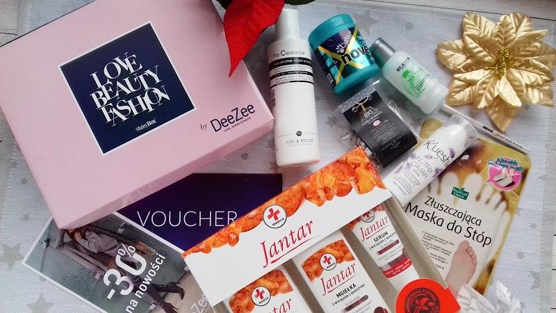 Listopadowe pudełko ShinyBox by DeeZee•LOVE•BEAUTY•FASHION