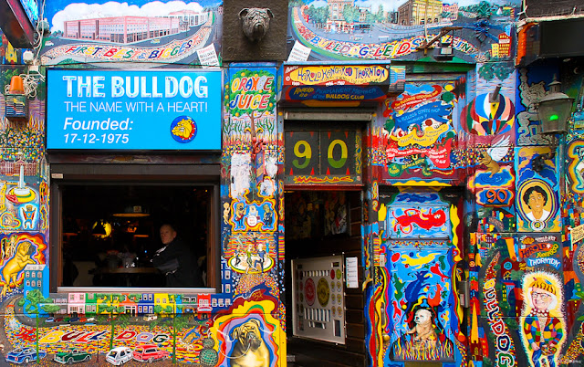 The Bulldog Coffee Shop em Amsterdã