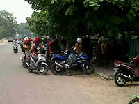 Foto Lokasi pemerkosaan di Jalan Jafri Zamzam, Banjarmasin jadi tontonan