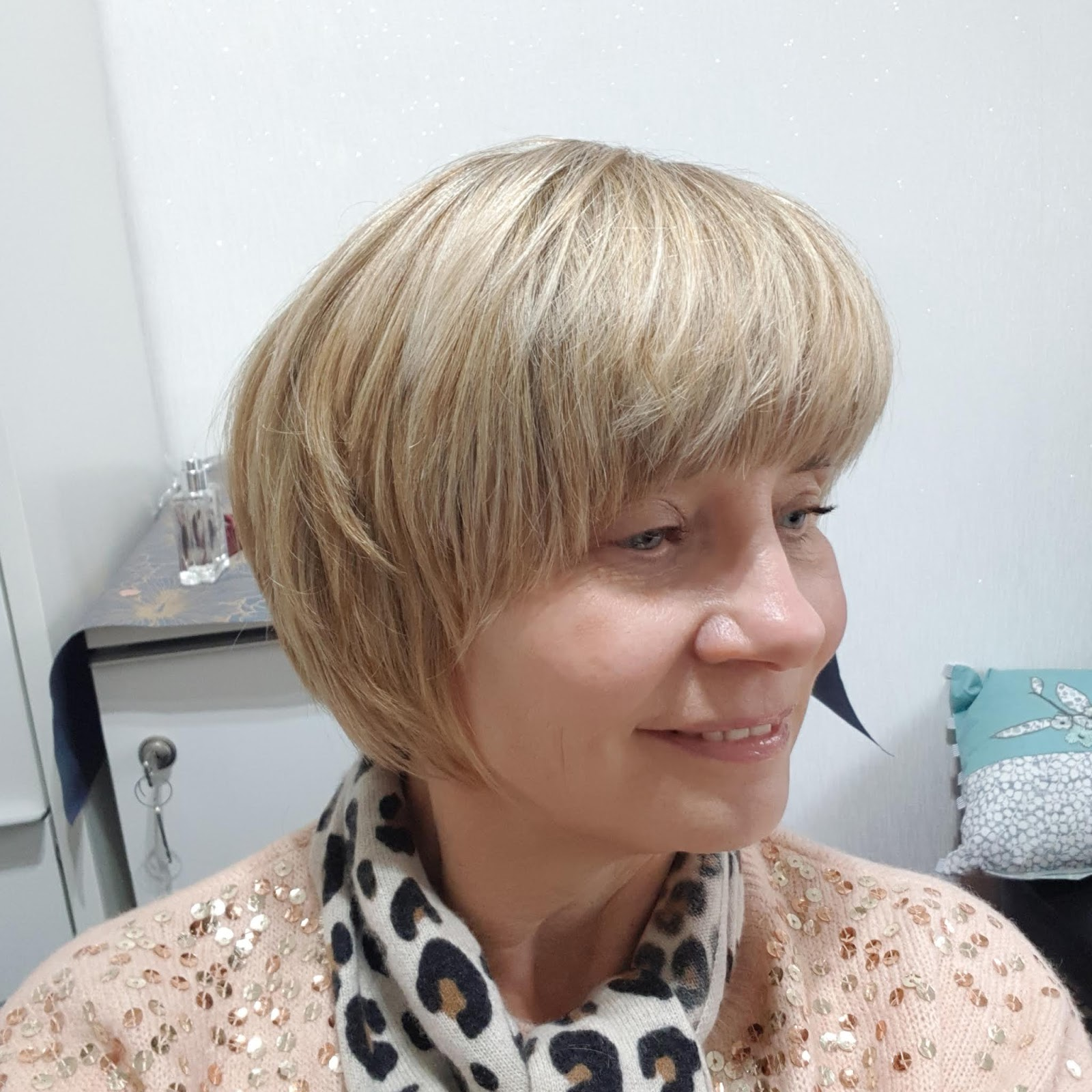 Is This Mutton? blogger Gail Hanlon after a colour refresh and trim with Jodie Blewitt