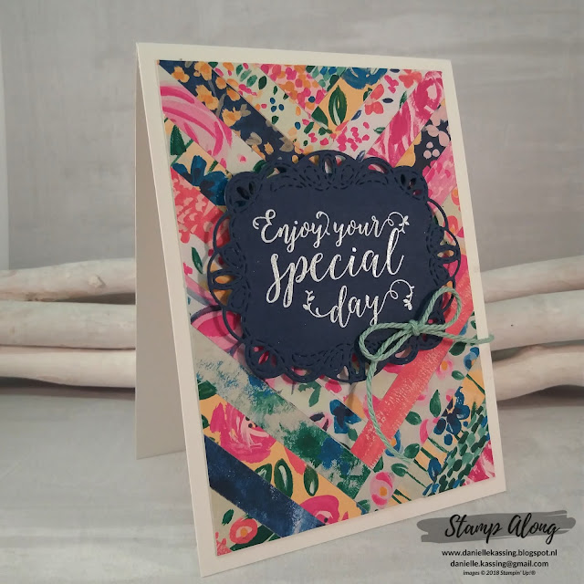 Stampin' Up! Garden Impressions DSP