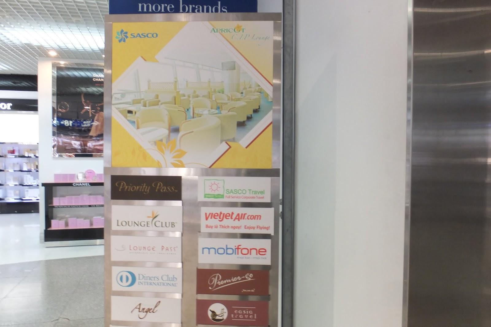 apricot-lounge-hcmc-sign ホーチミン市の空港ラウンジ