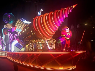 Incredibles Underminer Float Paint the Night