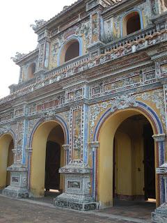 Duc Chuong Gate. Cidadela de Hue, Vietnã