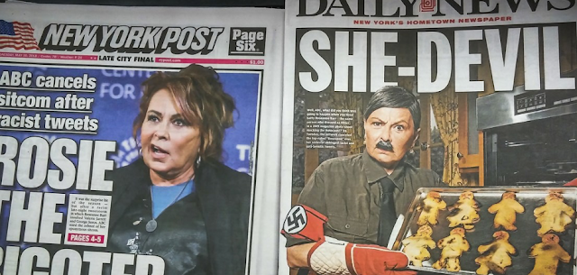 Roseanne Barr claims her tweet about Valerie Jarrett was actually about anti-Semitism