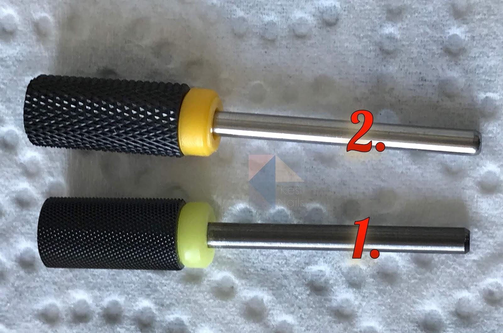 [Recenzja] Czarne ceramiczne frezy XF (extra fine) - porównanie dwóch rodzajów