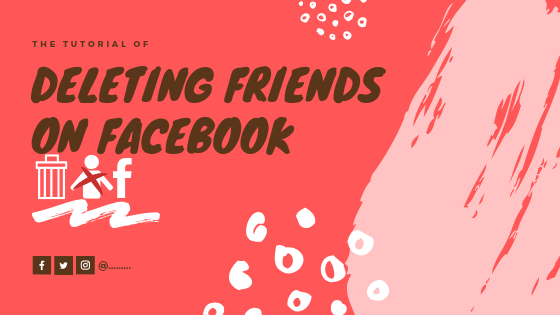 How To Delete Friends Facebook<br/>