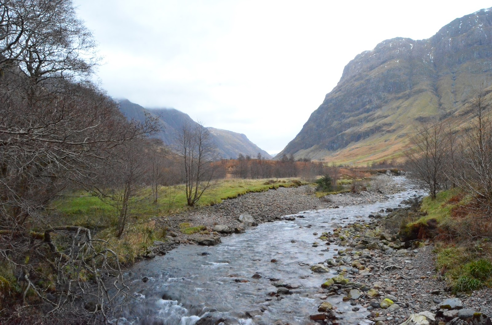 Glencoe Scotland An Tor Forest