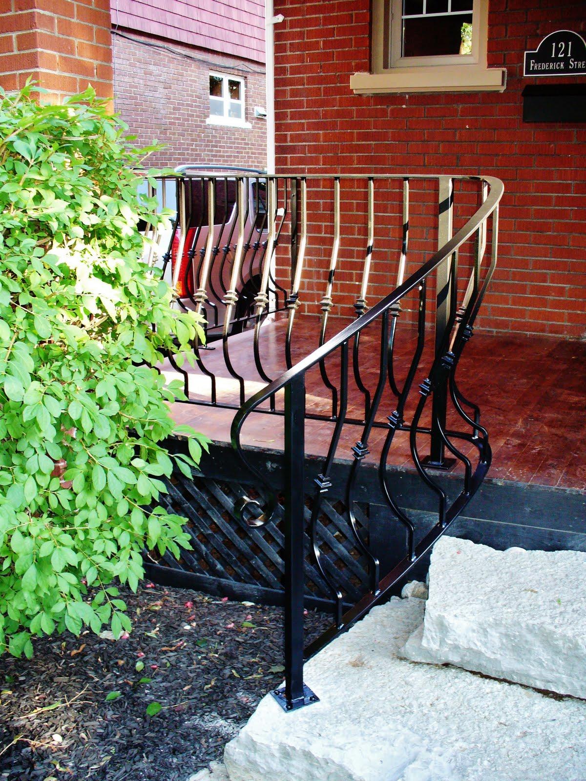 Wrought Iron From Julian: Wrought Iron Outdoor Railings